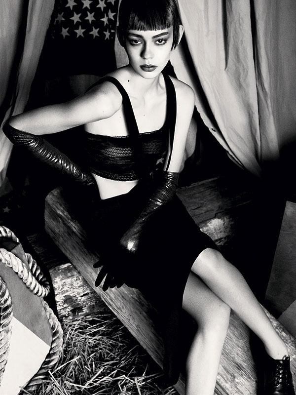 Claudia Schiffer by Francesco Carrozzini for Vogue Germany