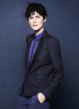 Rhiordan Applewhite // Stella Tennant ST.Zara.FW.2011.Newsletter